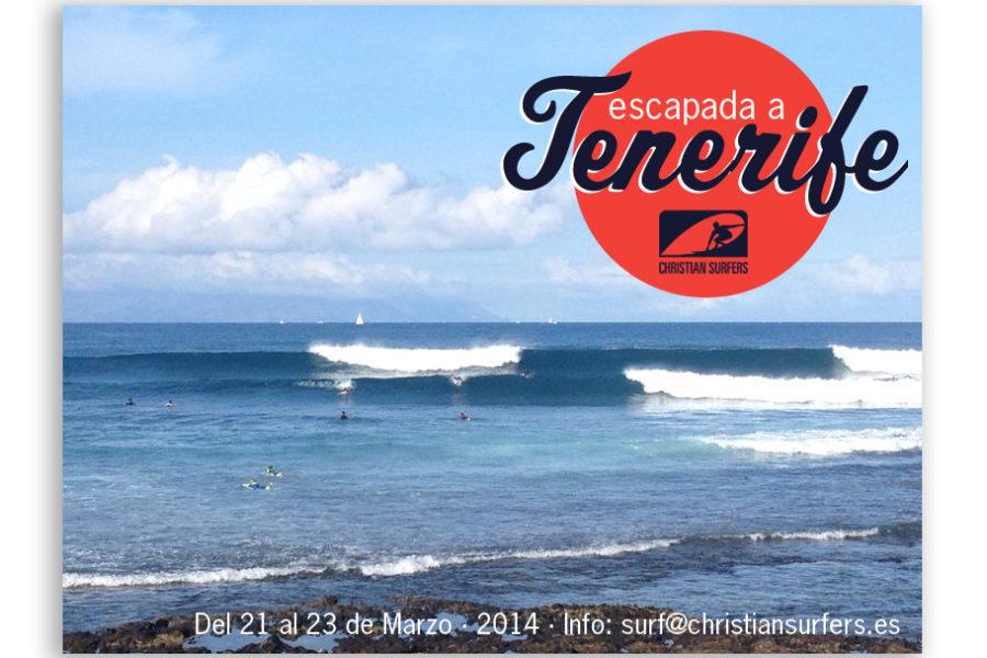 Escapada Christian Surfers España a Tenerife