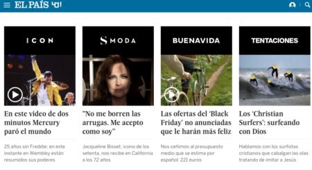 Salimos en el diario El País